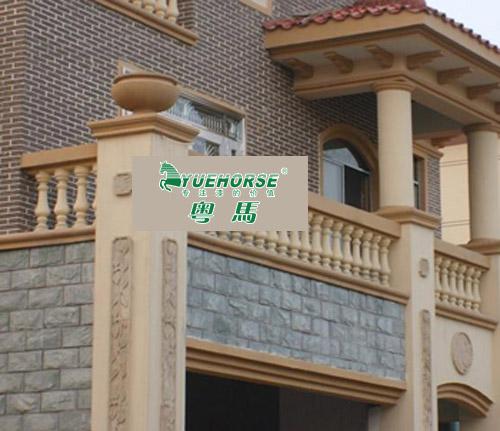 外墙真石漆效果图及真石漆产品简介